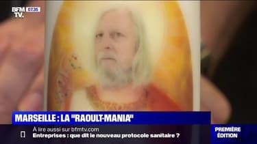 Bougies, t-shirts... Comment Didier Raoult est devenu une idole à Marseille