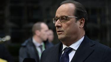 Le chef de l'Etat François Hollande.