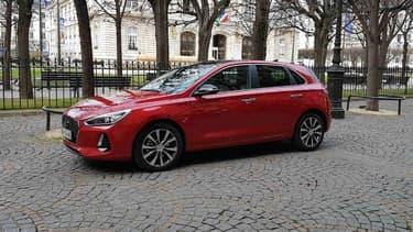 La nouvelle i30 commercialisée cette année par le constructeur coréen Hyundai.