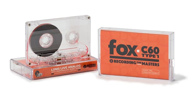 Les cassettes commercialisées par Recording The Masters