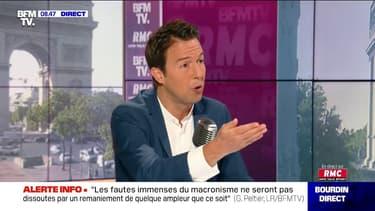 Guillaume Peltier (LR) favorable à un plafonnement des salaires des hauts fonctionnaires