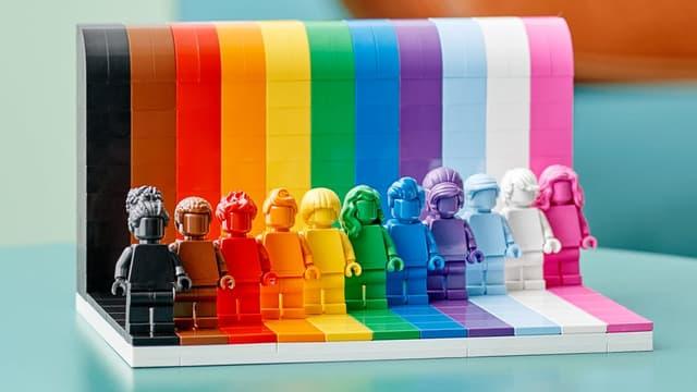 Lego célèbre la diversité dans sa nouvelle collection.