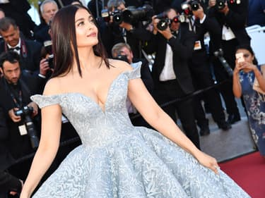 Aishwarya Rai à Cannes en 2017