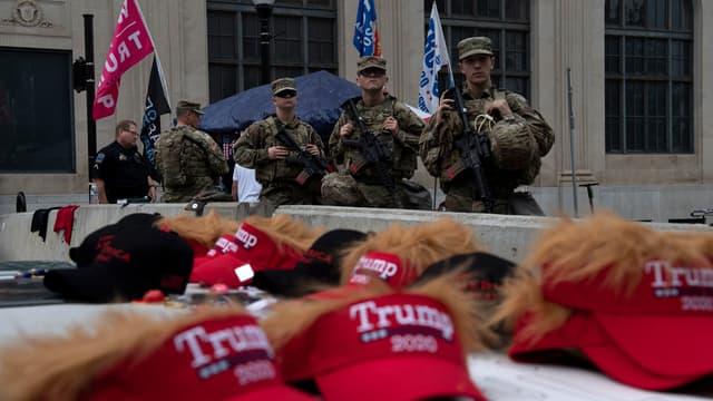 La Garde nationale déployée à Tulsa.