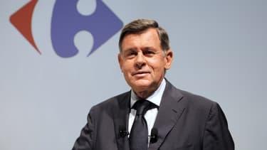 Georges Plassat, ici lors d'une conférence de presse en juillet 2014.
