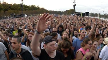 Rock en Seine au parc de Saint-Cloud en août 2015.