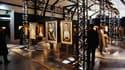 Rétrospective d'une centaine de tableaux d'Amedeo Modigliani,  au Musée du Luxembourg à Paris en 2002