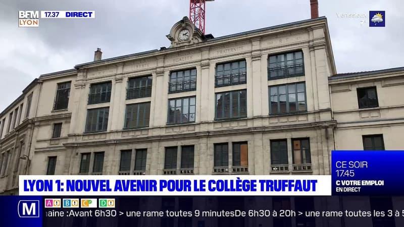 Lyon 1 : nouvel avenir pour le collège Truffaut
