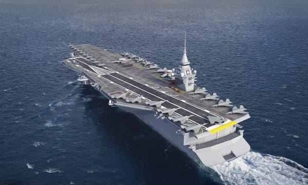 Le futur porte-avions français