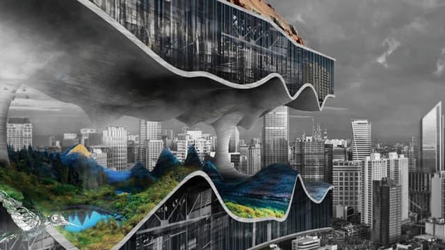 Ce gratte-ciel veut regrouper différentes usines.