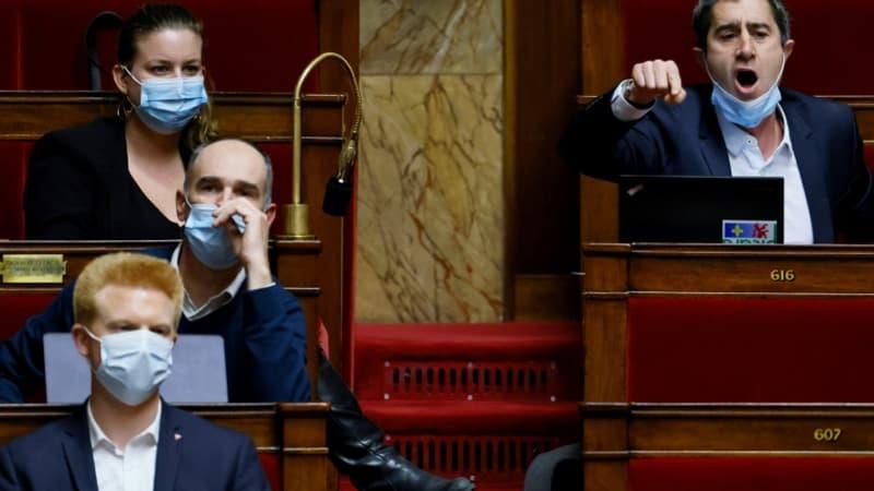 Vif échange à l'Assemblée entre Ruffin et Véran, Ferrand accuse l'insoumis d'absentéisme