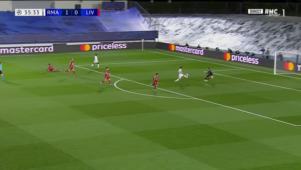Le but d'Asensio