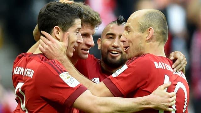 Le Bayern, adversaire potentiel du PSG en 8es de finale de la Ligue des champions