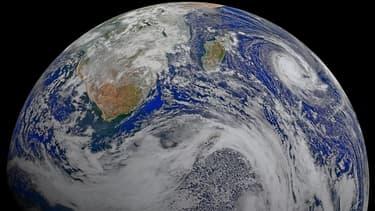 Image de la Terre réalisée par la Nasa en avril 2015