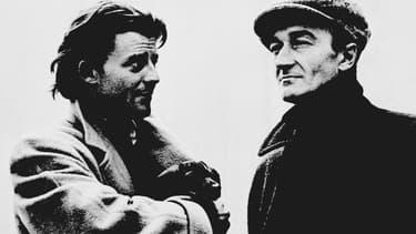 Jean Vilar ici avec Gérard Philippe en 1951