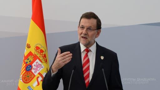 Mariano Rajoy, le Premier ministre espagnol, face à un contentieux fiscal avec l'Europe
