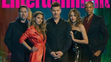 Le casting d'Angel réunit sur la couverture du magazine Entertainment Weekly.