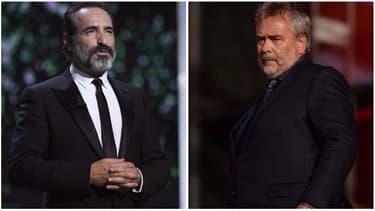 Jean Dujardin et Luc Besson
