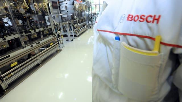Bosch veut devenir un acteur incontournable des composants électroniques pour l'automobile.