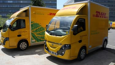 DHL vient de déployer deux nouveaux Colibus, utilitaires électriques en région parisienne. Le groupe s'engage à diminuer ses émissions de CO2 de 30% d'ici 2020.