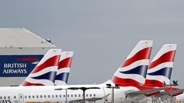 Image d'illustration - Des avions à Heathrow de British Airways