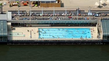 La piscine Joséphine Baker s'apprête à rouvrir.