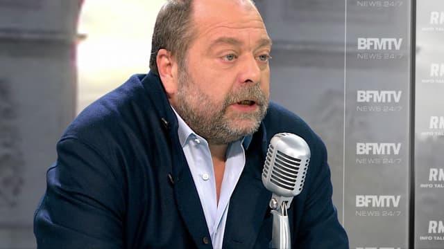 Maître Éric Dupond-Moretti, avocat de la famille de Rémi Fraisse