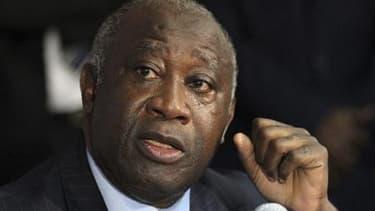 """Le gouvernement de Laurent Gbagbo, a estimé """"injuste"""" samedi la menace de recours à la force brandie la veille par les chefs d'Etat ouest-africains qui lui demandent de démissionner après l'élection contestée du 28 novembre en Côte d'Ivoire. /Photo prise"""