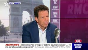 """Selon le président du Medef, """"l'économie française ne se remettrait pas d'un nouveau confinement généralisé"""""""