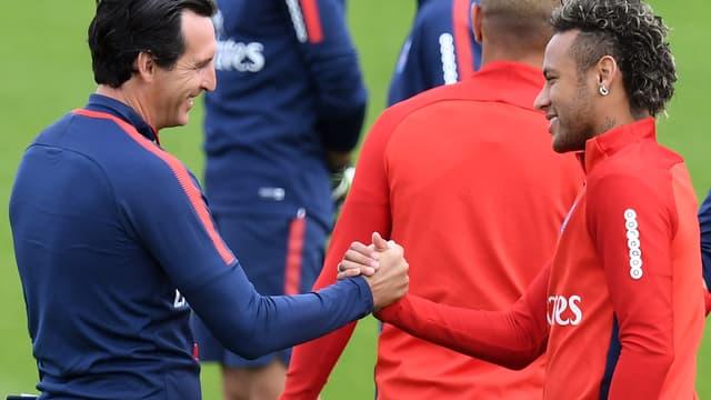 Emery et Neymar