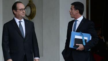 Manuel Valls devrait quitter le gouvernement avant la présidentielle d'après Arnaud Montebourg (photo d'illustration)