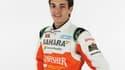 Jules Bianchi sous les couleurs de Force India
