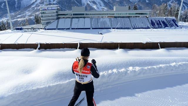 Le futur stand de tir olympique, à Sotchi