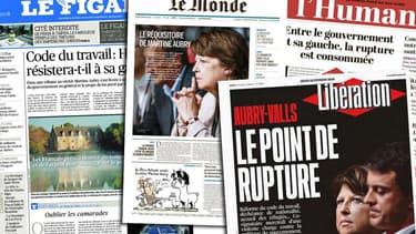 Martine Aubry, le 8 septembre 2014 à Lille lors d'une conférence de presse