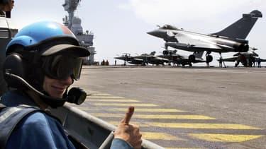 Le Charles-de-Gaulle a appareillé mardi 13 janvier pour l'Océan indien