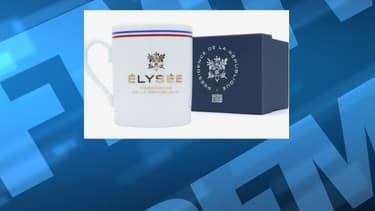 L'un des mugs en vente sur la boutique en ligne de l'Elysée