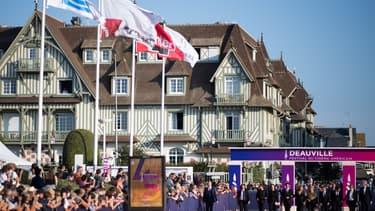 Le tapis rouge de l'édition 2019 du festival de Deauville.