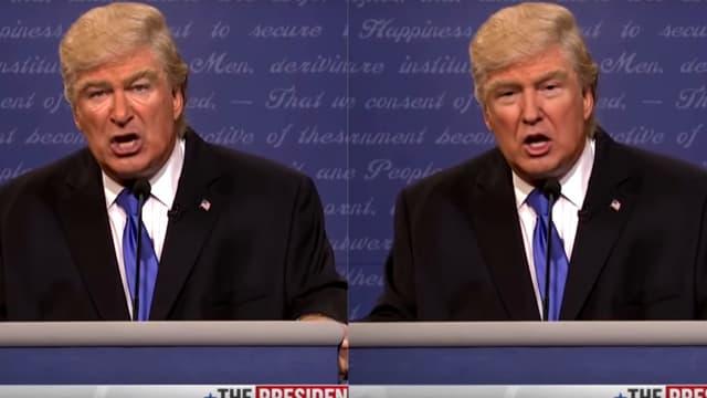 "L'illustration d'un ""deep fake"", sur Donald Trump."