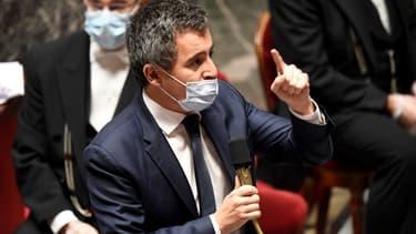 Le ministre de l'Intérieur Gérald Darmanin, à l'Assemblée nationale le 17 novembre 2020