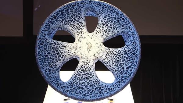 La structure du concept Vision est composé d'une multitude d'alvéoles.
