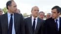 Jean-François Copé, Alain Juppé et François Fillon le 3 mai 2012.