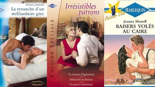 Harlequin est le spécialiste de la littérature romantique.