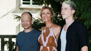 Mathieu Sapin et l'équipe du film Le Poulain