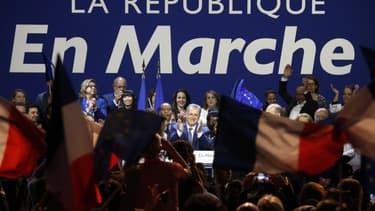 Le président du groupe La République en marche à l'Assemblée nationale Richard Ferrand, lors d'un meeting de campagne pour les élections législatives, le 23 mai 2017 à Aubervilliers. (Photo d'illustration)