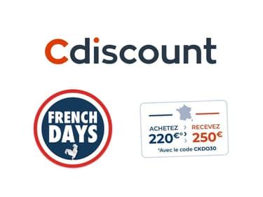 French Days Cdiscount : une carte cadeau en promotion est déjà disponible !