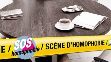 """L'association SOS Homophobie lance une nouvelle campagne pour """"ne plus se taire""""."""