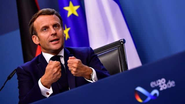 """Emmanuel Macron a décrit ce plan comme véritablement historique et """"de nature à répondre aux défis sanitaires, économiques et sociaux"""""""