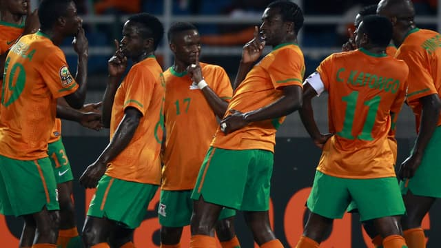 L'équipe de Zambie