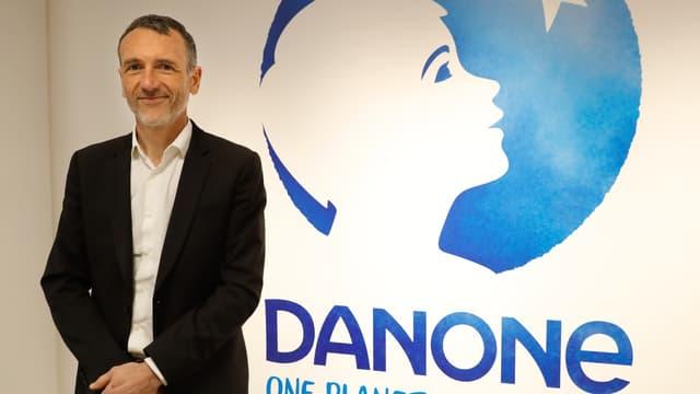 Le PDG de Danone, Emmanuel Faber,