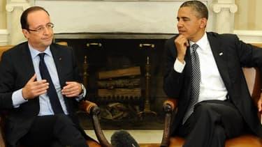 François Hollande et Barack Obama devraient aborder les sujets brûlants comme l'Iran, la Syrie ou l'Ukraine.
